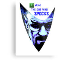 I am the one who Spocks Metal Print
