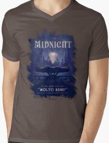 Midnight Mens V-Neck T-Shirt