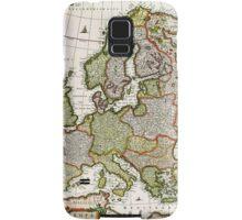 Antique Map of Europe Samsung Galaxy Case/Skin