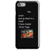 Quote from The World's End iPhone Case/Skin