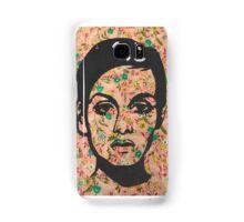 Twiggy Floral 60's Print Phone Case  Samsung Galaxy Case/Skin