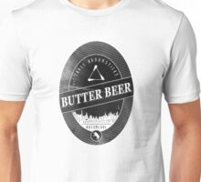 BUTTERBEER - Hogsmede Brew Black Label  Unisex T-Shirt