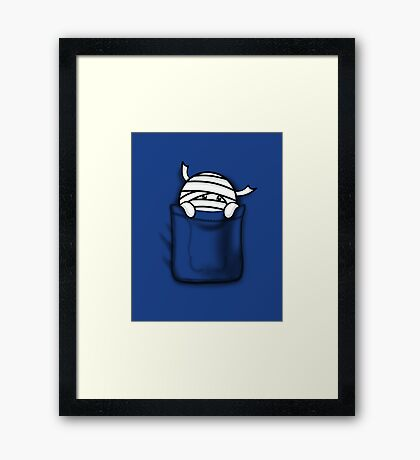 Are You My Mummy? Framed Print
