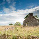 Ruined Croft House, Dunbeath, Caithness, Scotland by Iain MacLean
