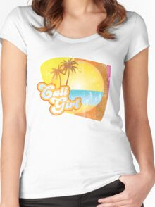 Cali Girl Women's Fitted Scoop T-Shirt