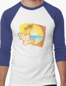 Cali Girl Men's Baseball ¾ T-Shirt