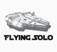 Star Wars - Flying Solo by Vaeyne