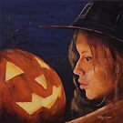 Pumpkin Witch by Michael Beckett