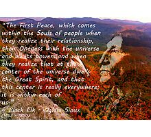 Black Elk Speaks Photographic Print