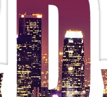 TxDxE Los Angeles Sticker