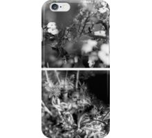 black and white flower phone case iPhone Case/Skin