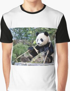 Chop Sticks - Funi   - Adelaide Zoo's Female Panda Graphic T-Shirt