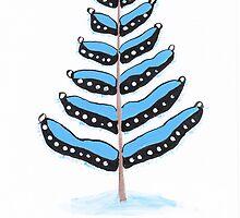 Poster art - Happy Christmas by Marikohandemade