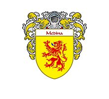 Medina Coat of Arms/Family Crest Photographic Print