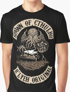 Spawn of Cthulhu - R'lyeh Original Graphic T-Shirt
