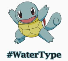 Squirtle Water Type Pokemon by gbenaim