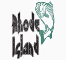 FISH RHODE ISLAND VINTAGE LOGO Kids Clothes
