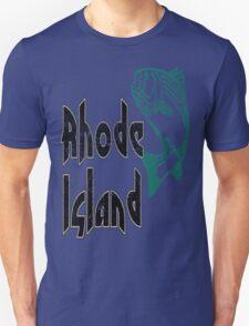 FISH RHODE ISLAND VINTAGE LOGO Unisex T-Shirt