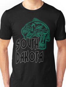 FISH SOUTH DAKOTA VINTAGE LOGO Unisex T-Shirt