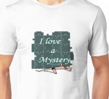 I love a Mystery Green Puzzle Unisex T-Shirt