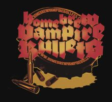 Home Brew Vampire Bullets logo tee by homebrewvampire