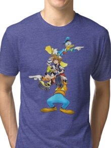 Kingdom Hearts: Where To Now? Tri-blend T-Shirt
