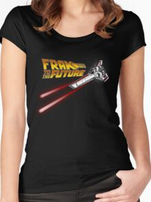FRAK to the FUTURE (v2) Women's Fitted Scoop T-Shirt