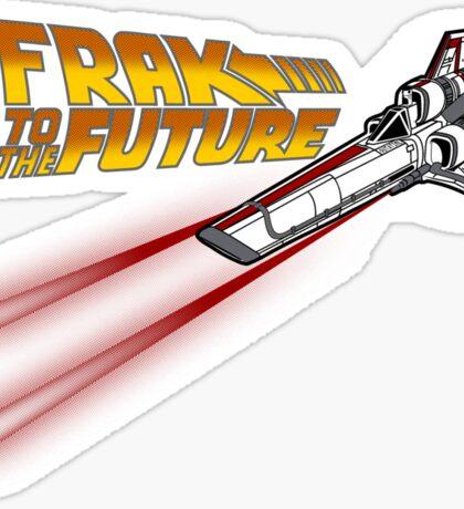 FRAK to the FUTURE (v2) Sticker
