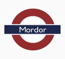 Middle-Earth Tube Station - Mordor by Vaeyne