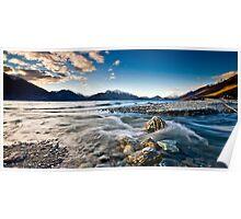 The Beautiful Lake Wakatipu Poster