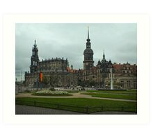 The Old City ~ Dresden, Germany Art Print