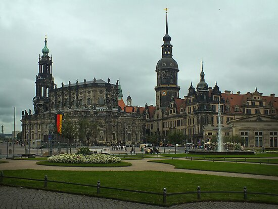The Old City ~ Dresden, Germany by Lucinda Walter