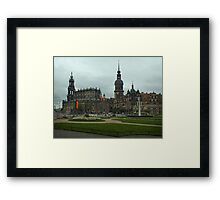The Old City ~ Dresden, Germany Framed Print