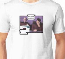 Make it sew (Sharing Stitches) Unisex T-Shirt