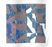 FRACTURE, grid sample II Poster