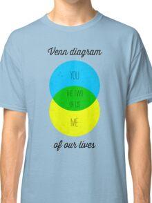 Venn diagram of our lives Classic T-Shirt