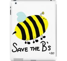 Save the B's iPad Case/Skin