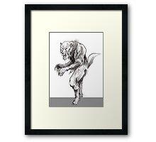 Ultimate Wolfman Framed Print