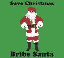 Bribe Santa Kids Tee
