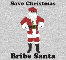 Bribe Santa One Piece - Long Sleeve