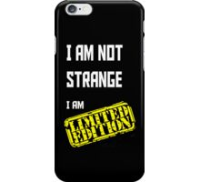 I am Limited Edition iPhone Case/Skin