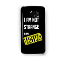 I am Limited Edition Samsung Galaxy Case/Skin