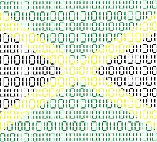 digital Flag (Jamaica) by sebmcnulty