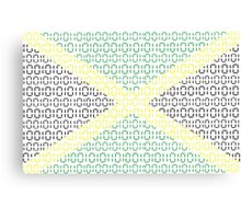 digital Flag (Jamaica) Canvas Print