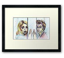 Goodbye Rose Framed Print