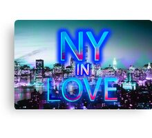 NY in love Canvas Print