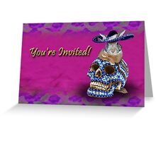 You're Invited Bunny Rabbit Greeting Card