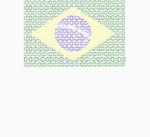 digital Flag (Brazil) Unisex T-Shirt