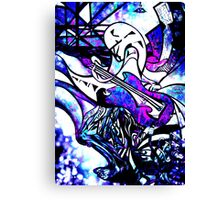 Musical madness Canvas Print