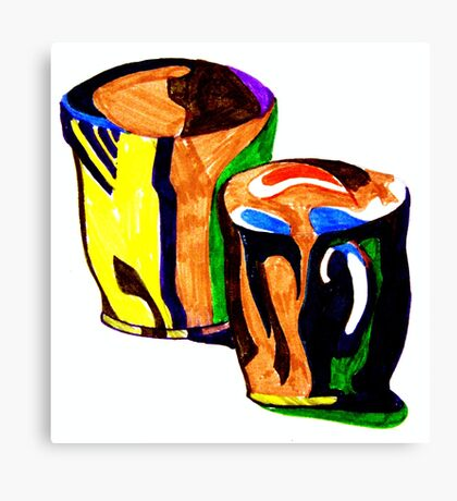 coffee cup's Canvas Print
